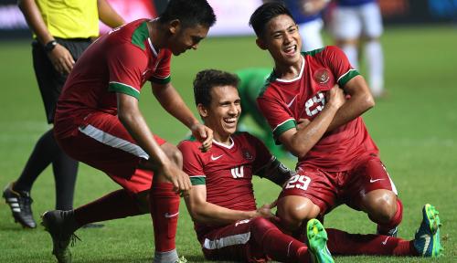 Foto Timnas U-19 Menangi Laga Perdana Grup A AFC Cup