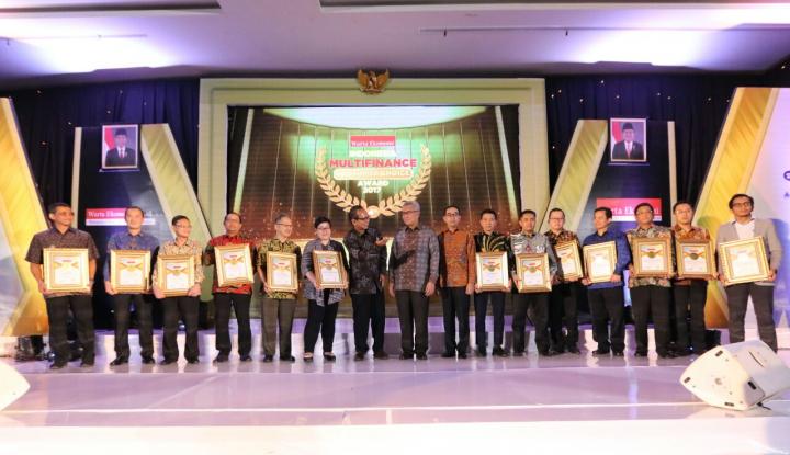 Inilah Pemenang Indonesia Multifinance Consumer Choice Award 2017