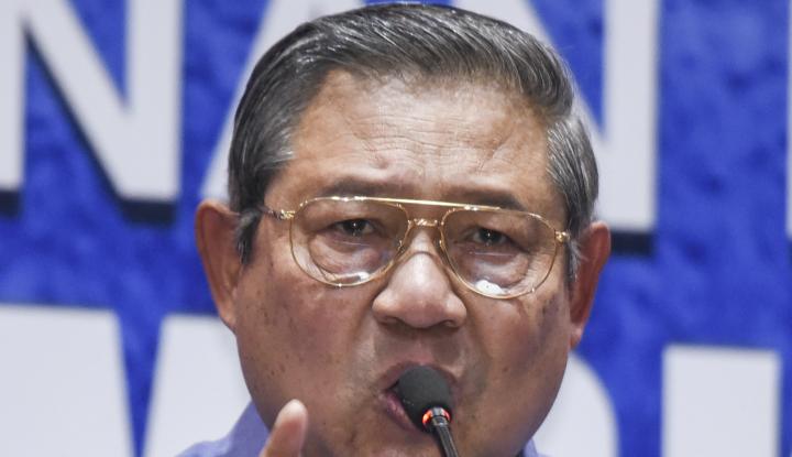 Foto Berita SBY: Belum Saatnya Bicara Capres, Kalau AHY?