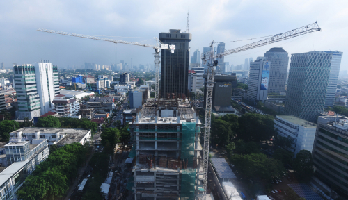 Foto GIB Segera Lakukan Topping Off Urban Heights Residences