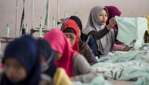 Foto Upah Buruh Hingga Asisten Rumah Tangga Naik di Juli 2018