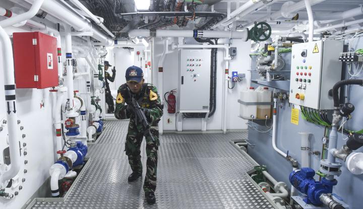 Foto Berita TNI Amankan Kapal Buronan Interpol di Perairan Aceh