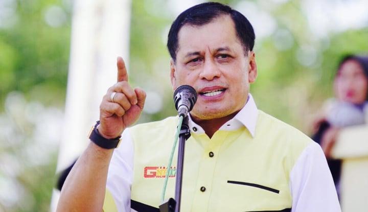 Foto Berita Jelang Tahun Politik, Nurdin Halid Minta Pengurus Golkar Awasi Ini...