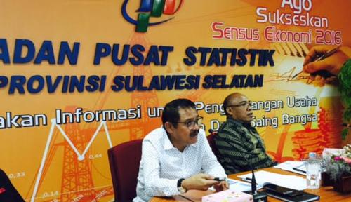 Foto BPS: Neraca Perdagangan Sulsel Surplus US$24,31 Juta