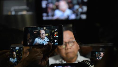 Foto Dugaan Politik Uang Taufik Gerindra, Polisi