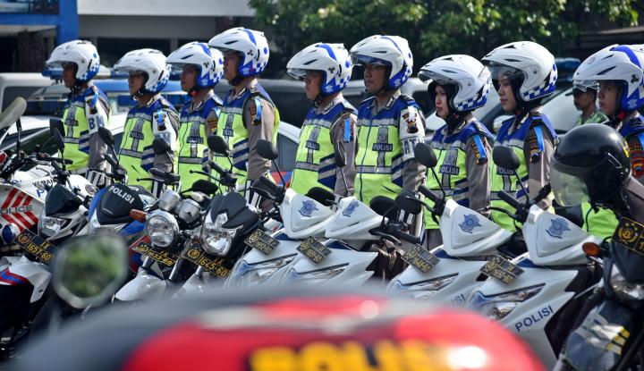 Foto Berita Sepanjang 2017, 29 Polisi di Bekasi Dihukum, Ada yang Pungli