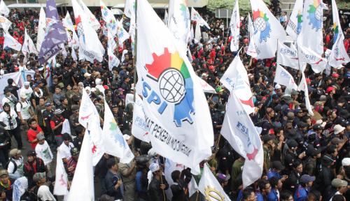 Foto KSBSI Targetkan 5 Juta Pemilih Buruh untuk Jokowi, Mampukah?