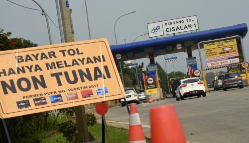 Foto Pro Kontra Motor Masuk Tol, Setuju atau Tidak?