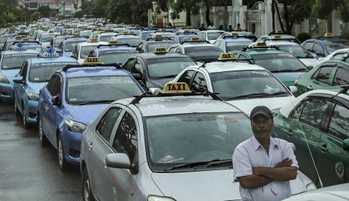 Foto Organda Minta Aturan Taksi Online Tak Berat Sebelah