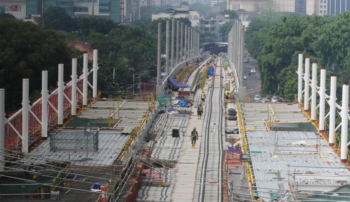 Foto Berita Juru Kemudi MRT Bukan Masinis Sembarang