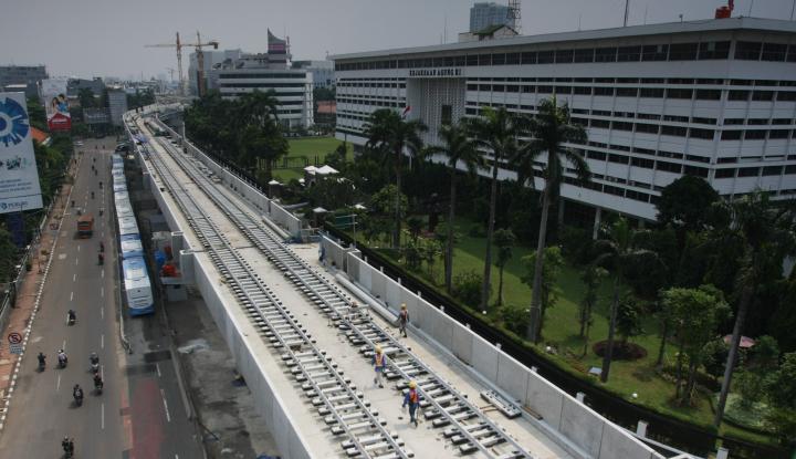 Foto Berita Tiba di Tanjung Priok, Gerbong MRT akan Segera Diuji Coba