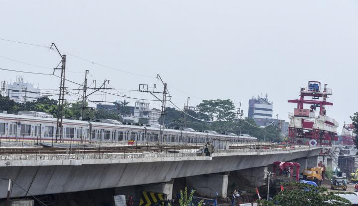 Foto Berita Progres Proyek LRT Mencapai Angka 35,2 Persen