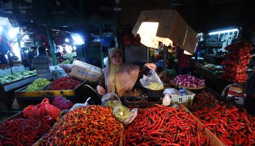 Foto Inflasi di Sumut Masih dari Cabai Merah