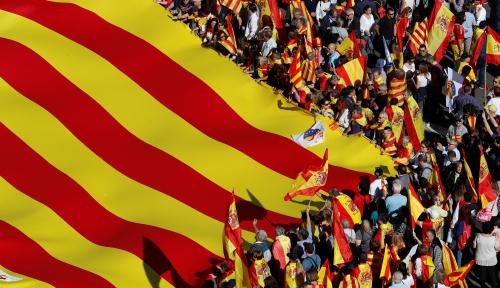 Foto Spanyol Tahan Mantan Pemimpin Catalunya?