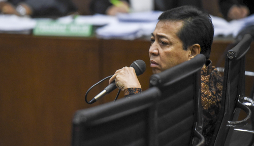 Foto Sidang Pra Peradilan Papa Novanto Akhir November