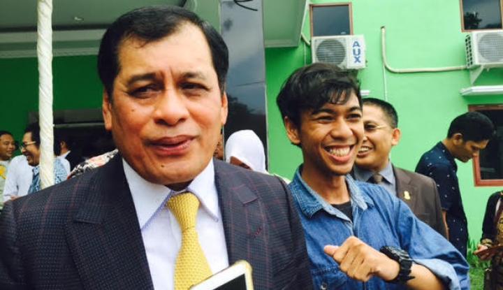 Foto Berita Nurdin Halid Tegaskan, Golkar Tak Campuri Perkara Hukum Novanto