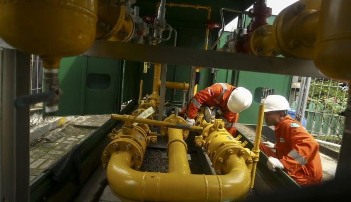 Foto Berita Produksi Gas Anak Usaha PGN Meroket