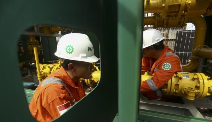 Foto Berita Holding Migas, Keuangan PGN Lebih Baik