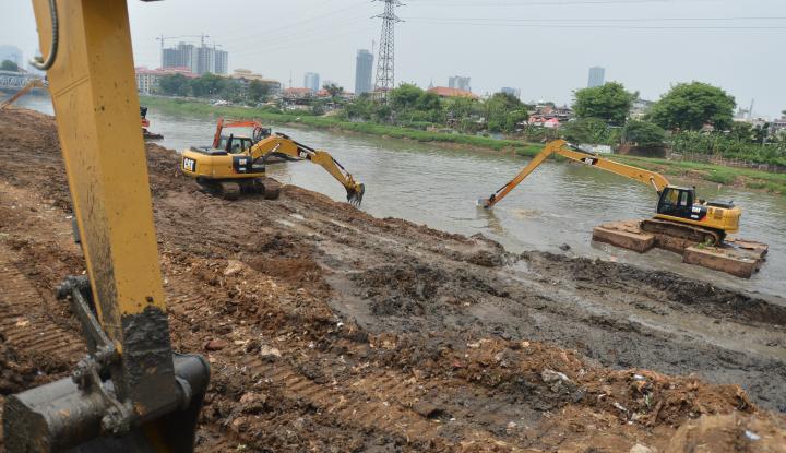 Foto Berita Kucurkan Rp7,5 Miliar, Pemkot Palembang Percantik Sungai Sekanak