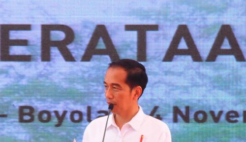 Foto Jokowi Minta DPD Ikut Promosikan Dana Desa