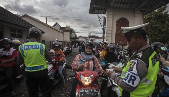 Foto Berita Gandeng Polda, Bapenda Jaring Kendaraan Penunggak Pajak