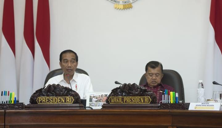 Foto Berita Jokowi Minta JK Atasi Masalah Investasi