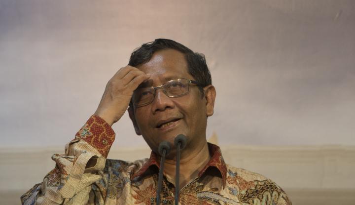 Foto Berita Nasdem 'Request' Mahfud MD Jadi Cawapres Jokowi
