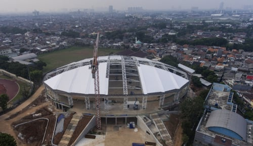 Foto Bukannya Bangga, Persiapan Asian Games Malah Ganggu Kenyamanan Warga