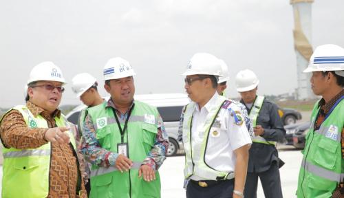 Foto Bappenas: Proyek BIJB Jadi Percontohan Pembangunan Bandara