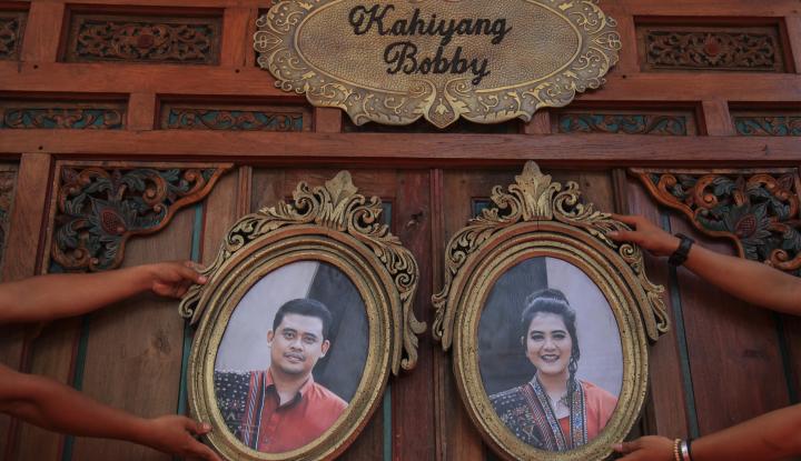 Foto Berita Sah, Kahiyang-Bobby Jadi Suami Istri