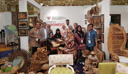 Foto Kali Ini, SMESCO Perluas Pasar Hingga Timur Tengah