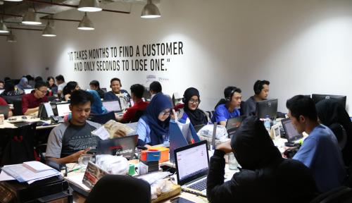 Foto Enaknya Jadi Karyawan Bukalapak, Bebas Berkreativitas