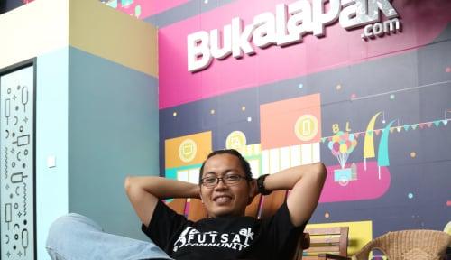 Foto Ashiap! Bos Bukalapak: Presiden Jokowi Bilang Jangan Uninstall Bukalapak