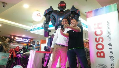 Foto Tantangan Selfie Bosch Bisa Dapat Motor
