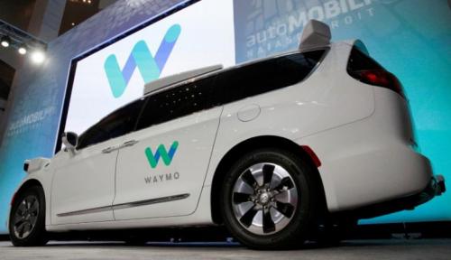 Foto Waymo, Nissan, dan Renault Uji Coba Mobil Swakemudi di Perancis dan Jepang