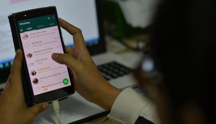 Pakar Digital Sambut BaikKebijakanWhatsApp Batasi Penerusan Pesan - Warta Ekonomi