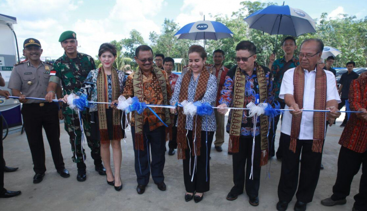 Jadi Penyalur BBM Satu Harga, AKR Resmikan SPBKB di Kalimantan - Warta Ekonomi