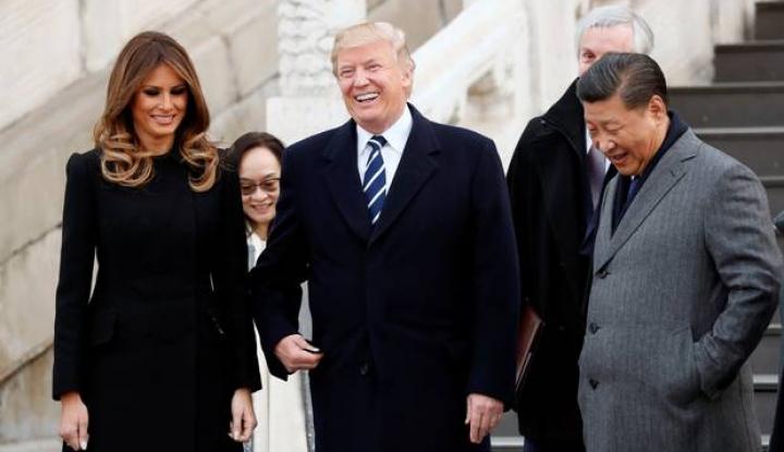 Foto Berita Dihukum Trump Senilai US$60 Miliar, China Serang Balik AS