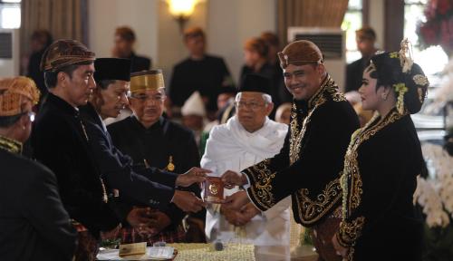 Foto Para Pelawak Meriahkan Pernikahan Kahiyang - Boby