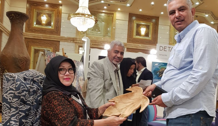 Foto Berita Hari Terakhir, Booth SMESCO Makin Dibanjiri Buyer Negara Arab