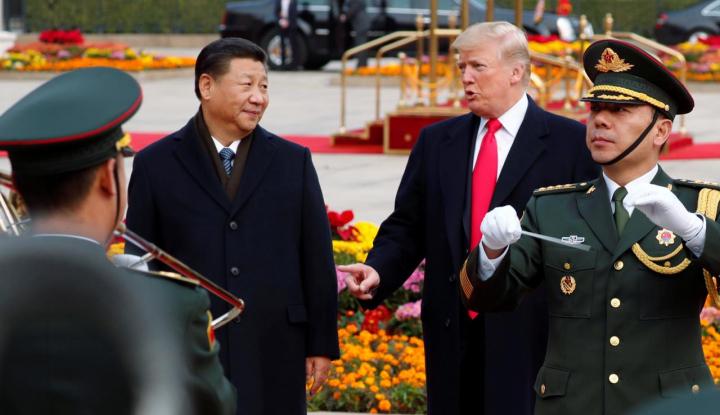 Foto Berita Hindari Perang Dagang, China Bersedia Dialog dengan AS
