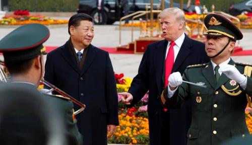 Foto Sadar Perang Dagang Tak Menghasilkan Pemenang, China Siap Berdiskusi dengan AS