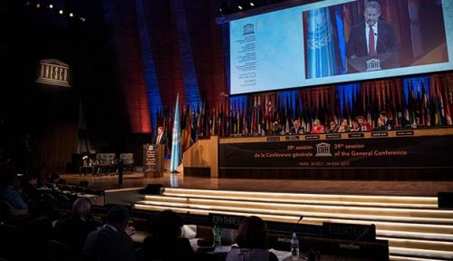 Foto Sah! Indonesia Terpilih Jadi Anggota Executive Board UNESCO Periode 2017-2021