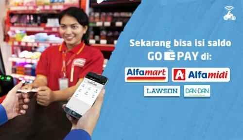 Foto Kini Isi Saldo Go-Pay Bisa Dilakukan di Gerai Belanja