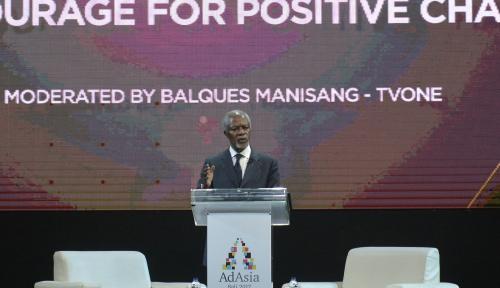 Foto Mantan Sekjen PBB Kofi Annan Meninggal Dunia