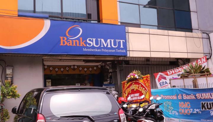 Foto Berita 2017, Laba Bersih Bank Sumut Naik 7,87%