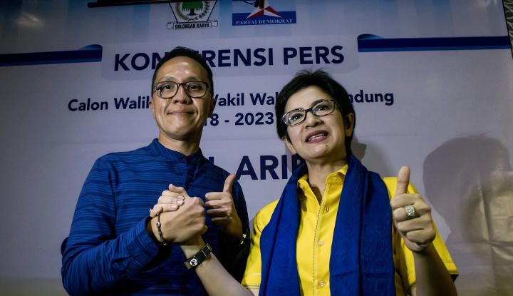 Foto Berita Nurul Arifin Bilang Bandung Bukan Kota Ramah Anak