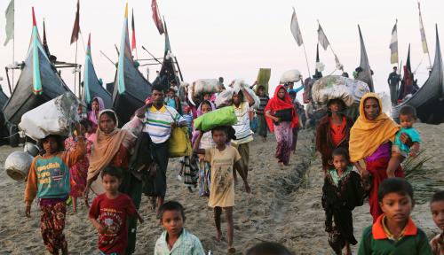 Foto PBB: Anak Rohingya Butuh Pendidikan Dasar