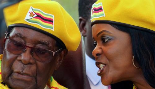 Foto Cek Kesehatan, Eks Diktator Zimbabwe Terbang ke Singapura