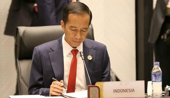 Foto Berita Jokowi: Neraca Perdagangan ASEAN Masih Jauh dari Optimal